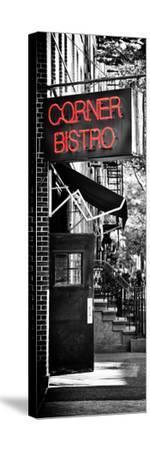 Urban Scene, Corner Bistro, Meatpacking and West Village, Manhattan, New York-Philippe Hugonnard-Stretched Canvas Print