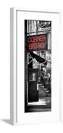 Urban Scene, Corner Bistro, Meatpacking and West Village, Manhattan, New York-Philippe Hugonnard-Framed Photographic Print