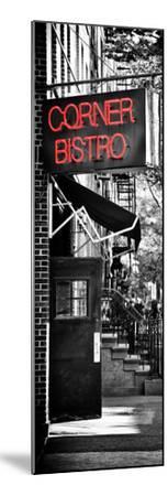 Urban Scene, Corner Bistro, Meatpacking and West Village, Manhattan, New York-Philippe Hugonnard-Mounted Photographic Print
