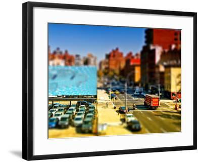 Tilt Shift Series, Art Modern, Manhattan, New York, United States-Philippe Hugonnard-Framed Photographic Print