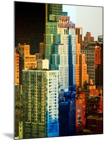 Fine Art, the New Yorker Hotel, Midtown Manhattan, New York City, United States-Philippe Hugonnard-Mounted Photographic Print