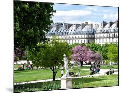 Garden of the Tuileries, the Louvre, Paris, France-Philippe Hugonnard-Mounted Photographic Print