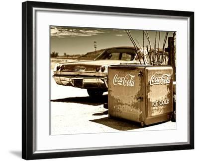 Photography Style, Route 66, Gas Station, Arizona, United States, USA-Philippe Hugonnard-Framed Photographic Print