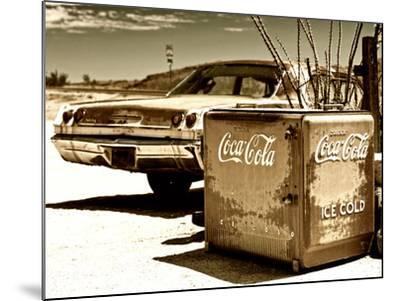 Photography Style, Route 66, Gas Station, Arizona, United States, USA-Philippe Hugonnard-Mounted Photographic Print