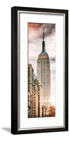 Instants of NY Series - Vertical Panoramic-Philippe Hugonnard-Framed Photographic Print