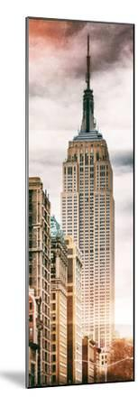 Instants of NY Series - Vertical Panoramic-Philippe Hugonnard-Mounted Photographic Print