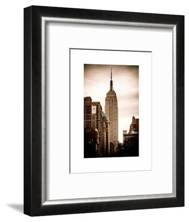 The Empire State Building-Philippe Hugonnard-Framed Photographic Print