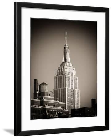 Top of the Empire State Building-Philippe Hugonnard-Framed Photographic Print
