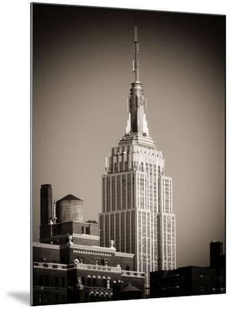 Top of the Empire State Building-Philippe Hugonnard-Mounted Photographic Print