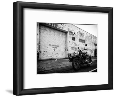 Motorcycle Garage in Brooklyn-Philippe Hugonnard-Framed Photographic Print