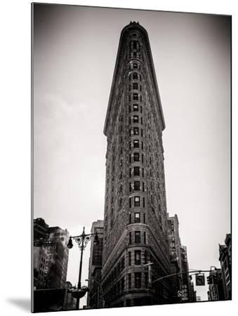 Flatiron Building Facade-Philippe Hugonnard-Mounted Photographic Print