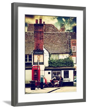 Boot Alley Sign - St Albans - The Boot Inn - London - UK - England - United Kingdom - Europe-Philippe Hugonnard-Framed Photographic Print
