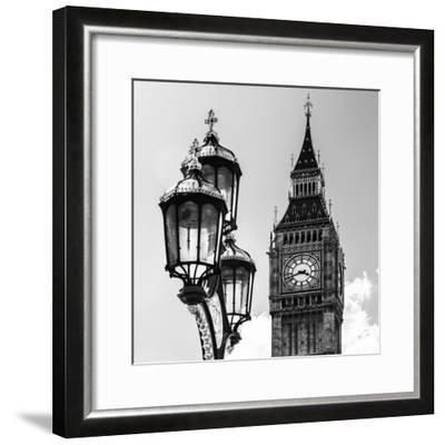 Big Ben and the Royal Lamppost UK - City of London - UK - England - United Kingdom - Europe-Philippe Hugonnard-Framed Photographic Print