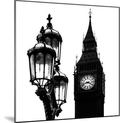 Big Ben and the Royal Lamppost UK - City of London - UK - England - United Kingdom - Europe-Philippe Hugonnard-Mounted Photographic Print