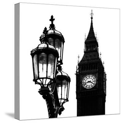Big Ben and the Royal Lamppost UK - City of London - UK - England - United Kingdom - Europe-Philippe Hugonnard-Stretched Canvas Print
