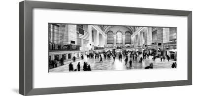 Panoramic View - Grand Central Terminal at 42nd Street and Park Avenue in Midtown Manhattan-Philippe Hugonnard-Framed Photographic Print