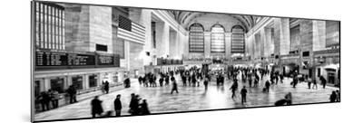 Panoramic View - Grand Central Terminal at 42nd Street and Park Avenue in Midtown Manhattan-Philippe Hugonnard-Mounted Photographic Print