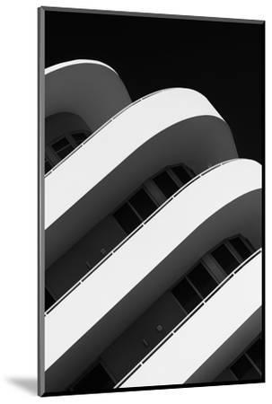 Art Deco Architecture of Miami Beach - South Beach - Florida-Philippe Hugonnard-Mounted Photographic Print