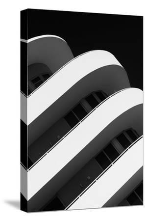 Art Deco Architecture of Miami Beach - South Beach - Florida-Philippe Hugonnard-Stretched Canvas Print