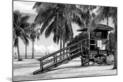 Life Guard Station - Miami - Florida-Philippe Hugonnard-Mounted Photographic Print