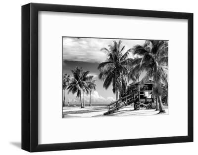 Life Guard Station - Miami Beach - Florida-Philippe Hugonnard-Framed Photographic Print