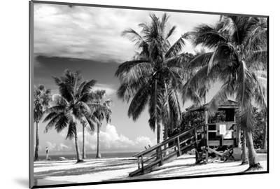 Life Guard Station - Miami Beach - Florida-Philippe Hugonnard-Mounted Photographic Print