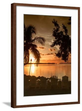 Four Chairs at Sunset - Florida-Philippe Hugonnard-Framed Photographic Print