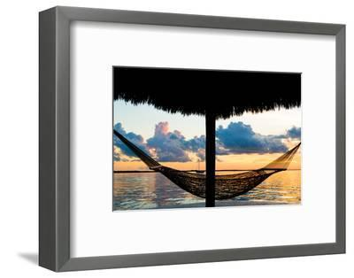 The Hammock at Sunset - Miami - Florida-Philippe Hugonnard-Framed Photographic Print