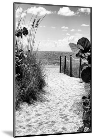 Boardwalk on the Beach - Miami - Florida-Philippe Hugonnard-Mounted Photographic Print