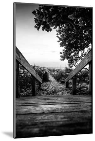 Boardwalk on the Beach at Sunset - Florida-Philippe Hugonnard-Mounted Photographic Print