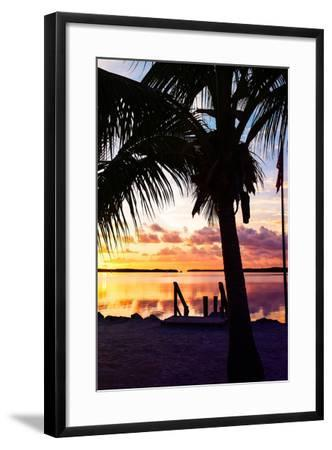 Silhouette at Sunset - Florida-Philippe Hugonnard-Framed Photographic Print