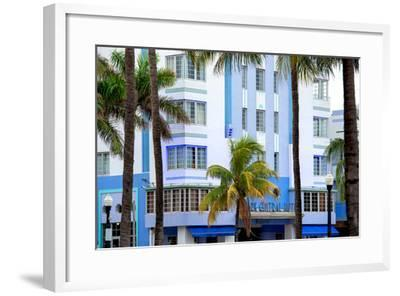 The Park Central Hotel Miami Beach - Art Deco District - Florida-Philippe Hugonnard-Framed Photographic Print