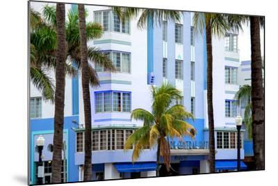 The Park Central Hotel Miami Beach - Art Deco District - Florida-Philippe Hugonnard-Mounted Photographic Print