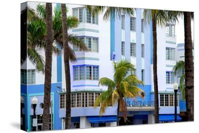 The Park Central Hotel Miami Beach - Art Deco District - Florida-Philippe Hugonnard-Stretched Canvas Print