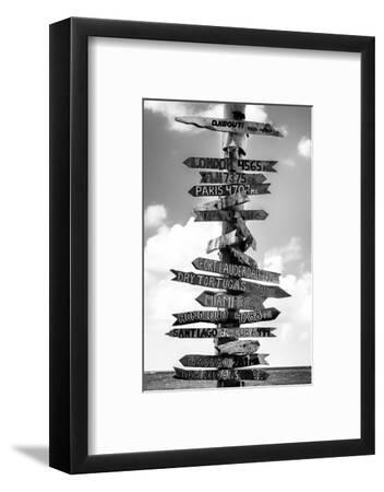 Destination Signs - Key West - Florida-Philippe Hugonnard-Framed Photographic Print
