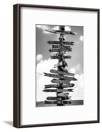 Destination Signs - Key West - Florida-Philippe Hugonnard-Framed Premium Photographic Print