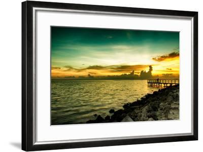 Sunset Sun Dream-Philippe Hugonnard-Framed Photographic Print