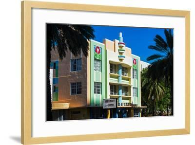 The Berkeley Shore Hotel in the Art-Deco District of Miami Beach - Florida-Philippe Hugonnard-Framed Photographic Print