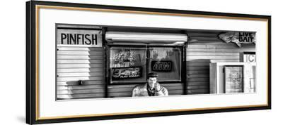Old Traditional American Bar Restaurant-Philippe Hugonnard-Framed Photographic Print
