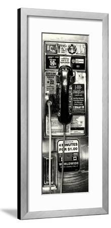 Door Posters - Pay Phone in Grand Central Terminal - Manhattan - New York-Philippe Hugonnard-Framed Photographic Print