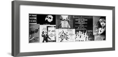 NYC Street Art - Patchwork of Old Posters of Broadway Musicals - Times Square - Manhattan-Philippe Hugonnard-Framed Photographic Print
