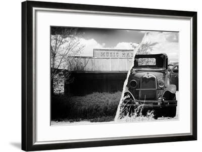 Dual Torn Posters Series - Americana-Philippe Hugonnard-Framed Photographic Print