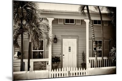 Key West Architecture - Heritage Structures in Old Town Key West - Florida-Philippe Hugonnard-Mounted Photographic Print