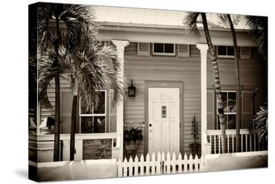 Key West Architecture - Heritage Structures in Old Town Key West - Florida-Philippe Hugonnard-Stretched Canvas Print