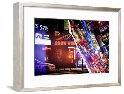 Dual Torn Posters Series - New York-Philippe Hugonnard-Framed Premium Photographic Print