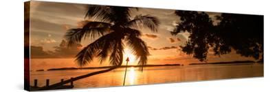 Sunset of Dreams - Florida-Philippe Hugonnard-Stretched Canvas Print