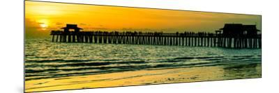 Naples Florida Pier at Sunset-Philippe Hugonnard-Mounted Photographic Print
