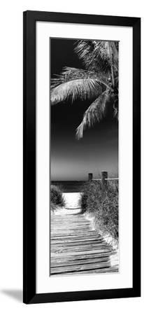 Boardwalk on the Beach - Florida-Philippe Hugonnard-Framed Photographic Print