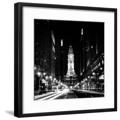 Philadelphia City-Philippe Hugonnard-Framed Photographic Print