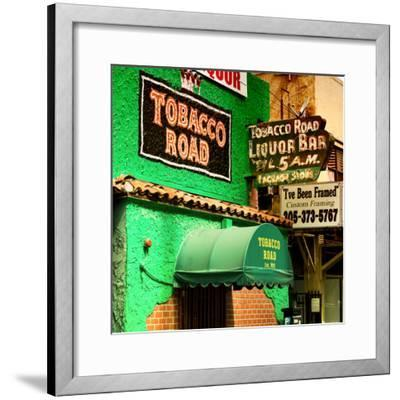 The Tobacco Road - Miami's Oldest Bar - Florida - USA-Philippe Hugonnard-Framed Photographic Print